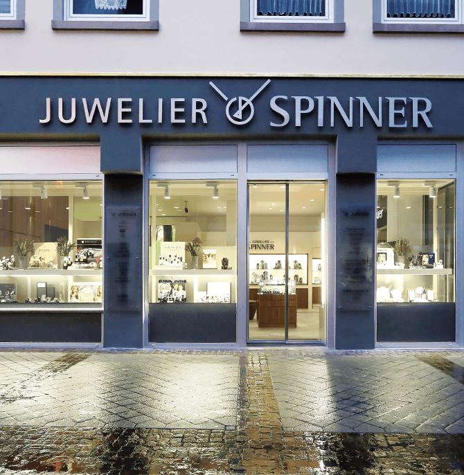 Kontakt Juwelier Spinner Geschäft