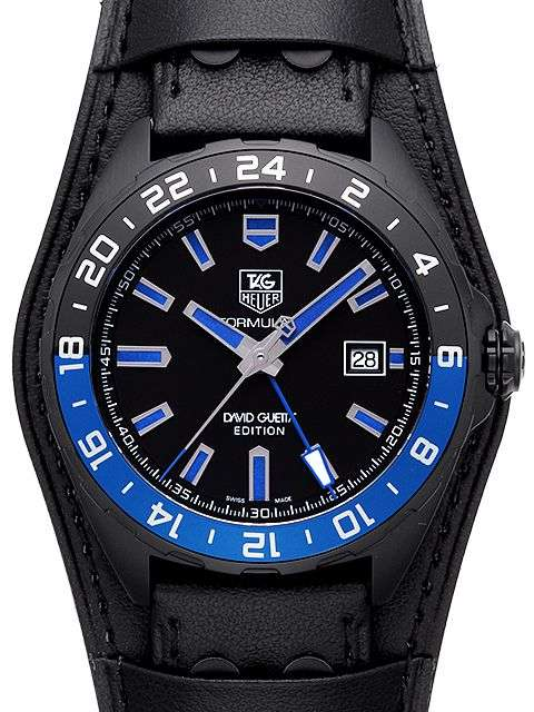 Tag Heuer Formula 1 GMT David Guetta Edition